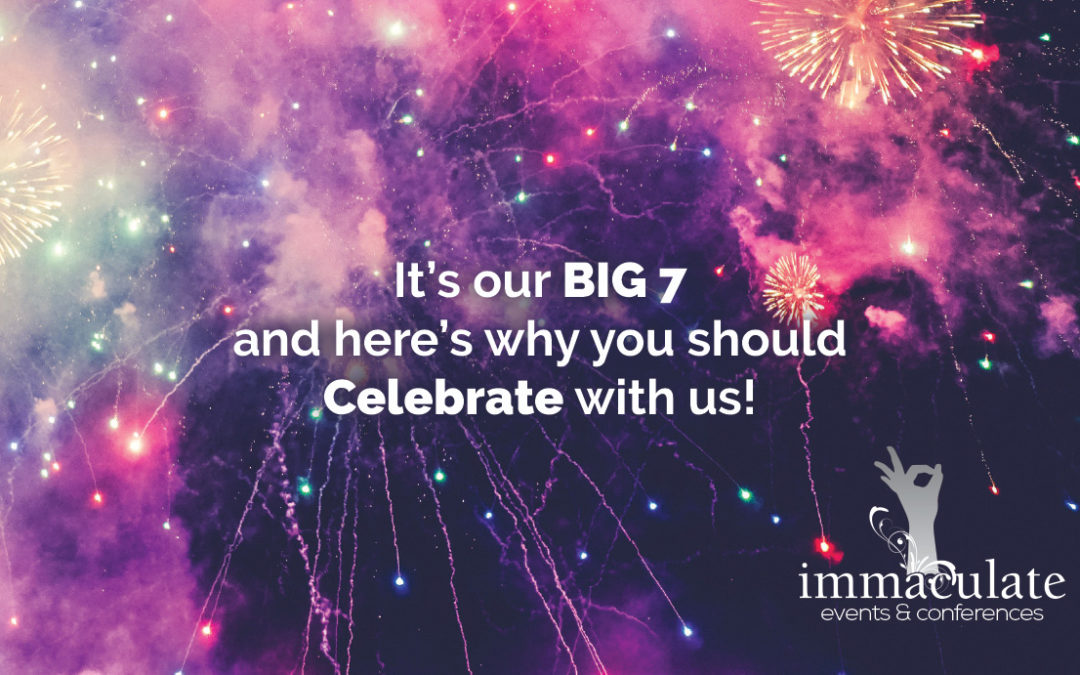 Immaculate Events Turns 7